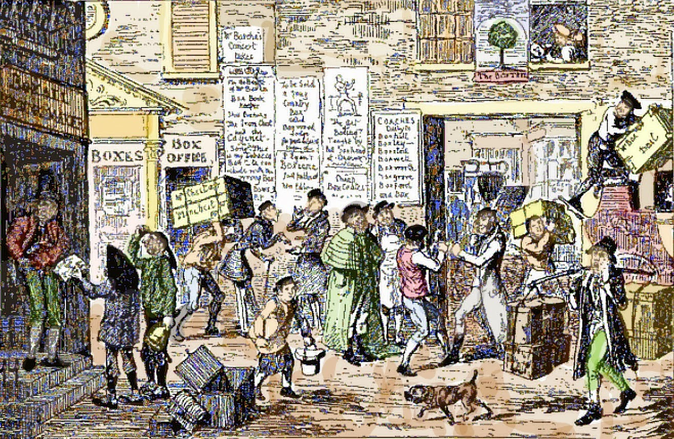 Boxing Day by George Cruickshank (1792-1878)
