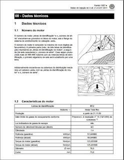Manual de manutenção Kombi 97