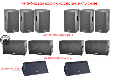 giai phap dan am thanh san khau ngoai troi