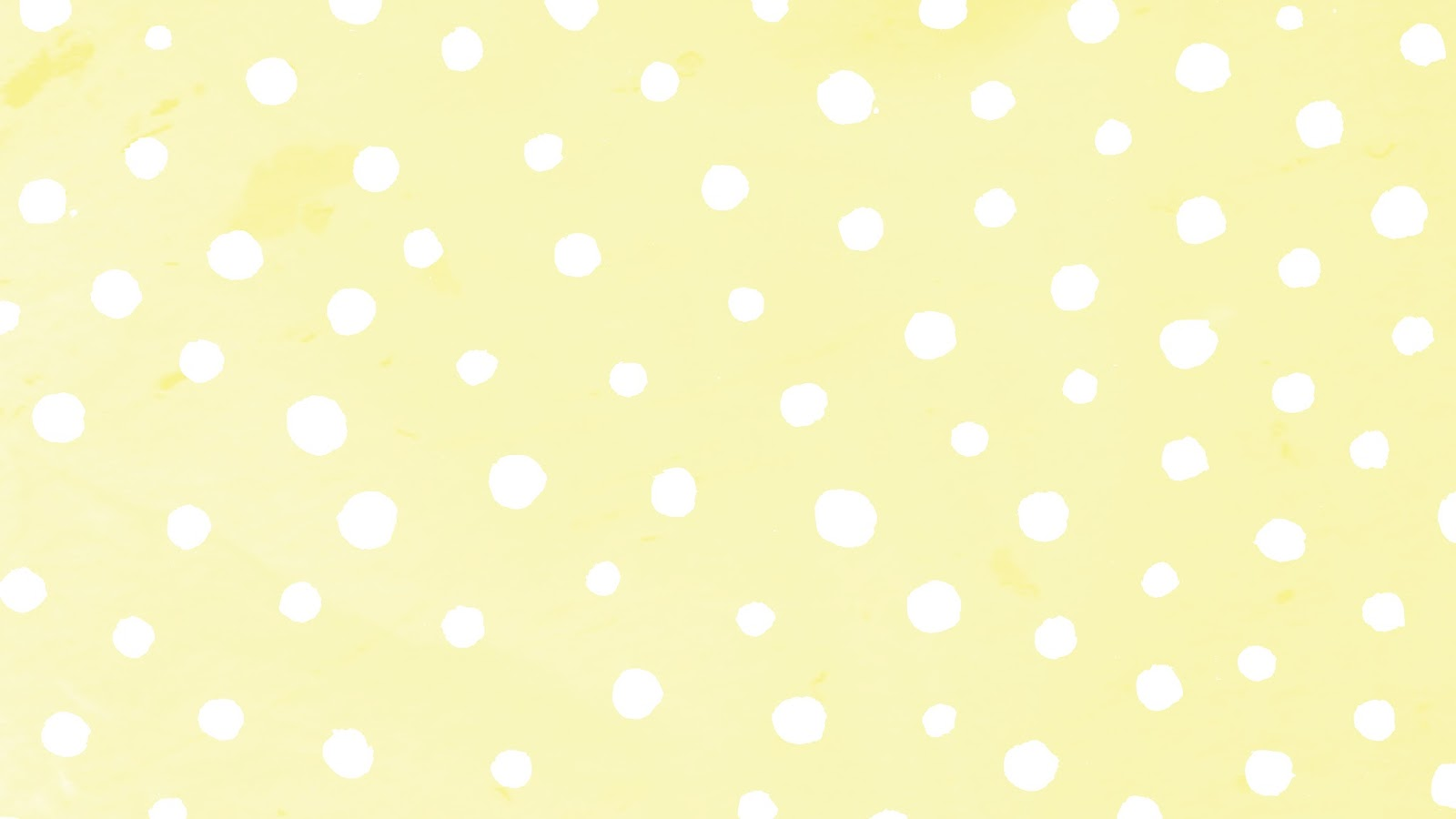 YELLOW SPOTS - 9 PRETTY PASTEL DESKTOP AND PHONE WALLPAPERS FOR SPRING.