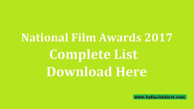 National Film Awards 2018 || Download Complete List