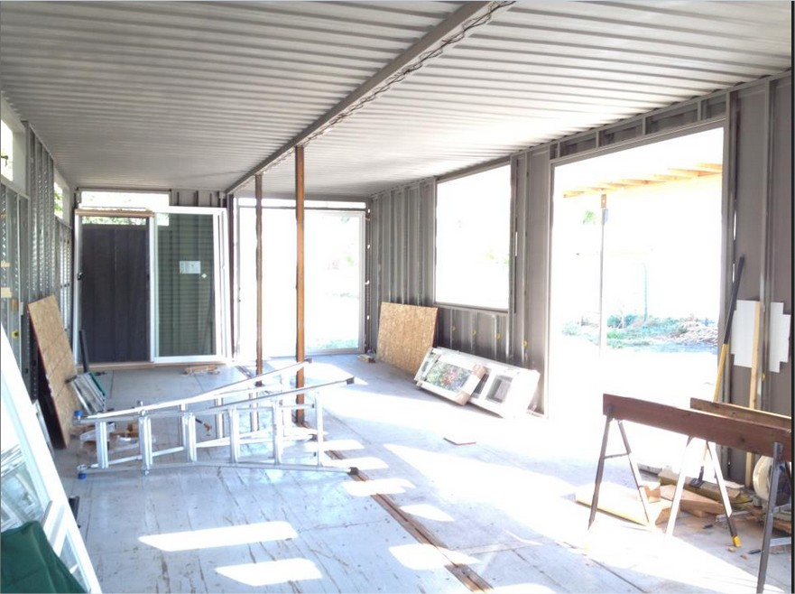 40 foot container home plans container home - Ft shipping container home ...