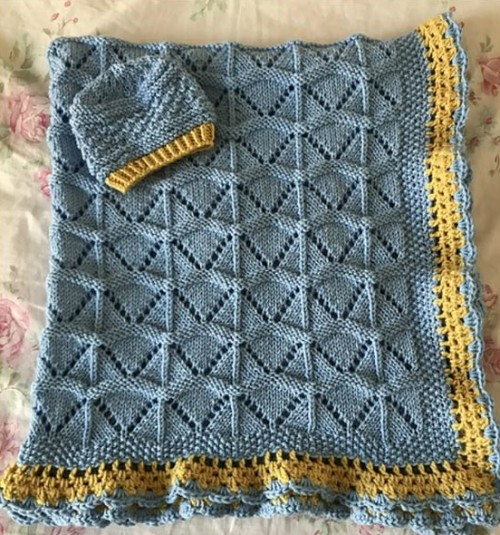 Precious Baby Blanket - Free Pattern