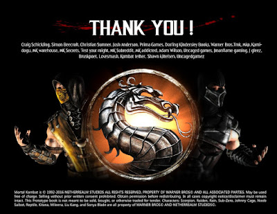 The Mortal Kombat Encyclopedia - MK Addicted