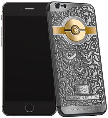 Harga iPhone 6S Pokemon Go Edition Terbaru 2016 dan Spesifikasinya