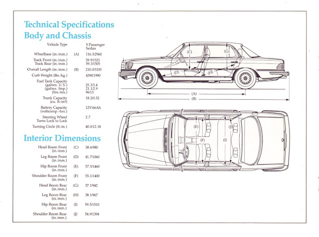 Mercedes Benz 450 Sel W116 Sedan 1980 1977 S Brochure Stuurman Clic And Special Cars