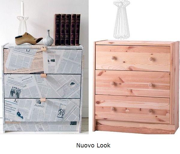 Tanti modi per rinnovare un mobile architettura e - Cambiare colore mobile legno ...