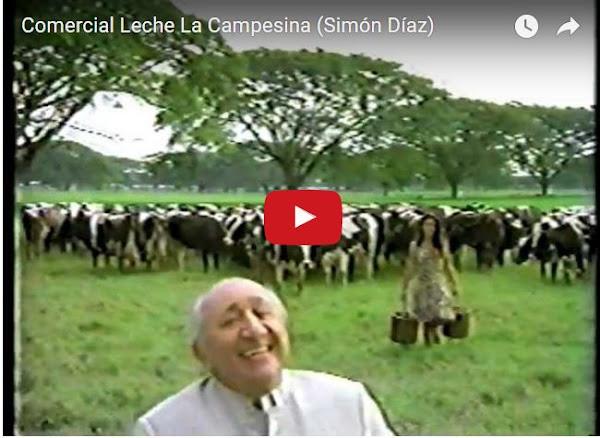 Comercial de Leche en Polvo La Campesina con Simón Díaz