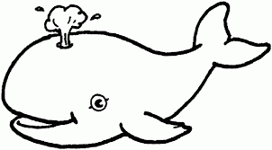 Adorable Whale Ocean Animals Coloring Pages