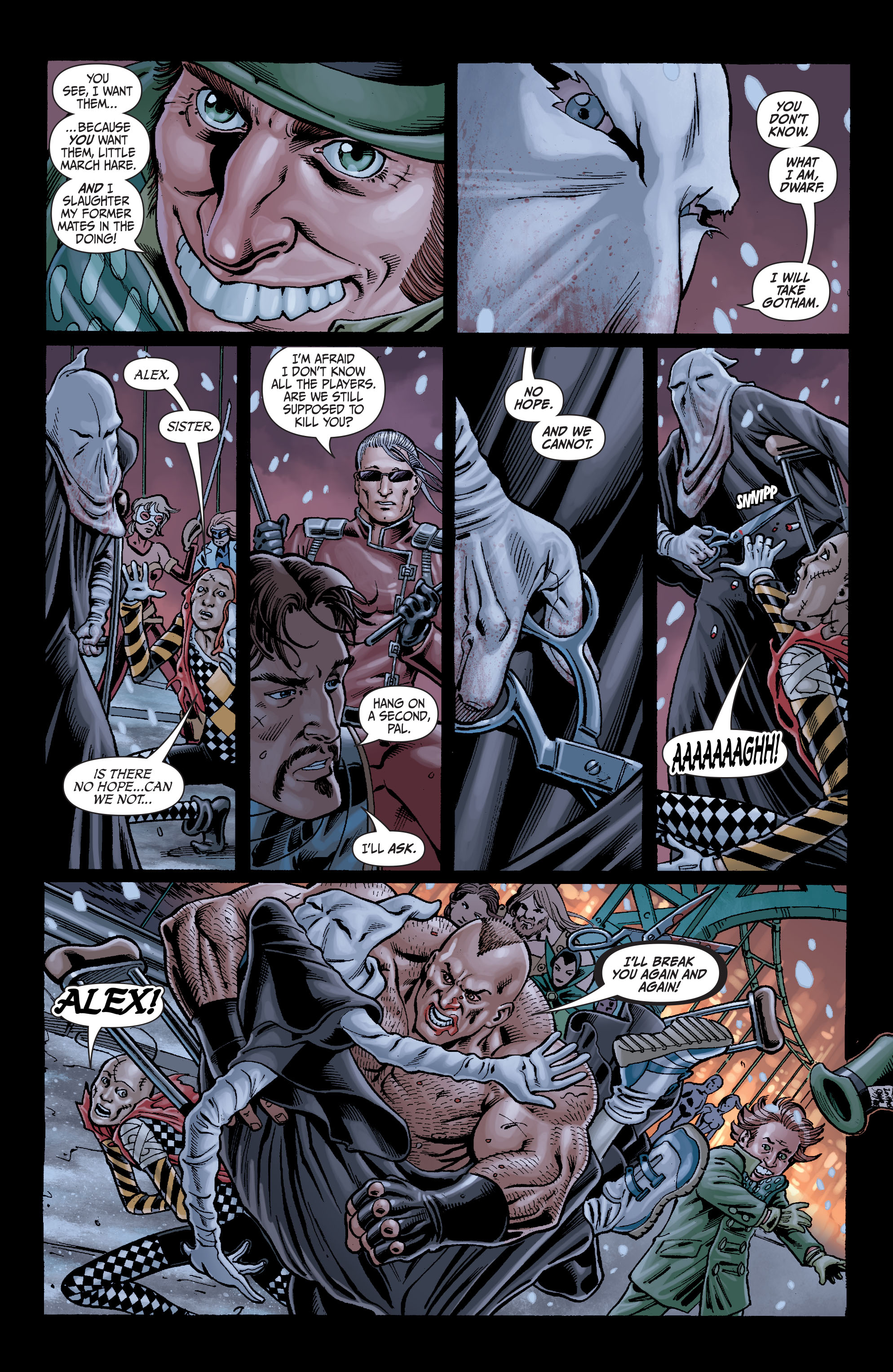 Read online Secret Six (2008) comic -  Issue #7 - 18