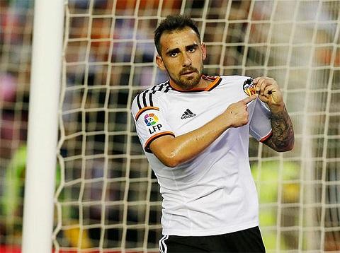 Paco Alcacer từng là chân sút số một của câu lạc bộ Valencia.