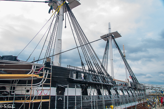 Boston USS Constitution - The freedom trial
