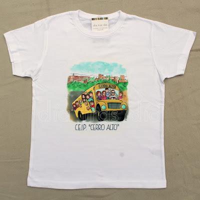 Camisetas viaje fin de curso