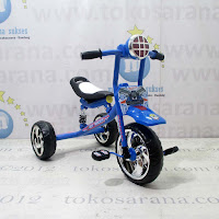 Sepeda Roda Tiga Wimcycle W05 Hotwheels Lisensi