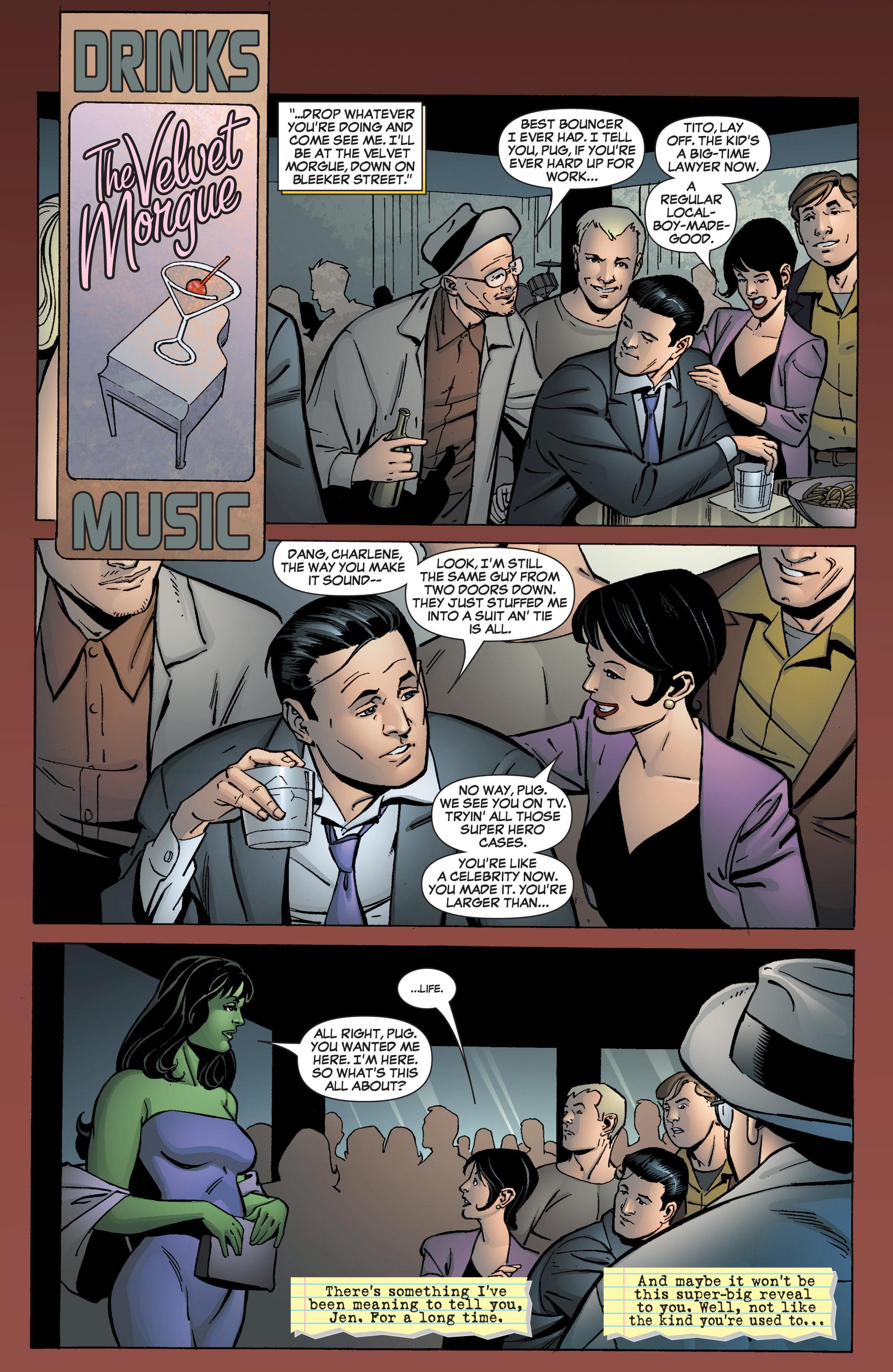 Read online She-Hulk (2005) comic -  Issue #9 - 12