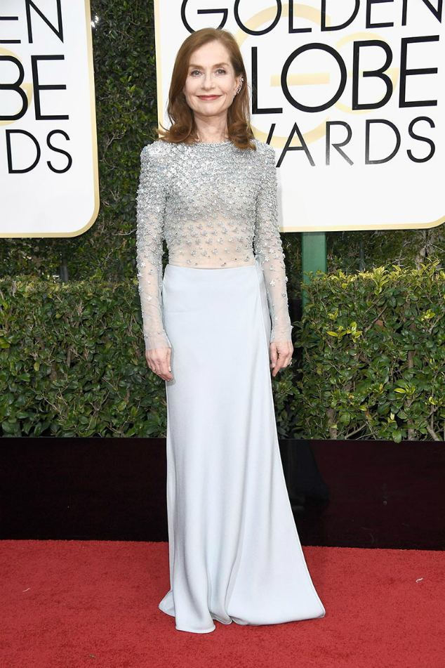 Isabelle Huppert Golden Globes 2017