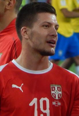 Luka Jovic - Atualmente joga pelo Eintracht Frankfurt por empréstimo do Benfica.