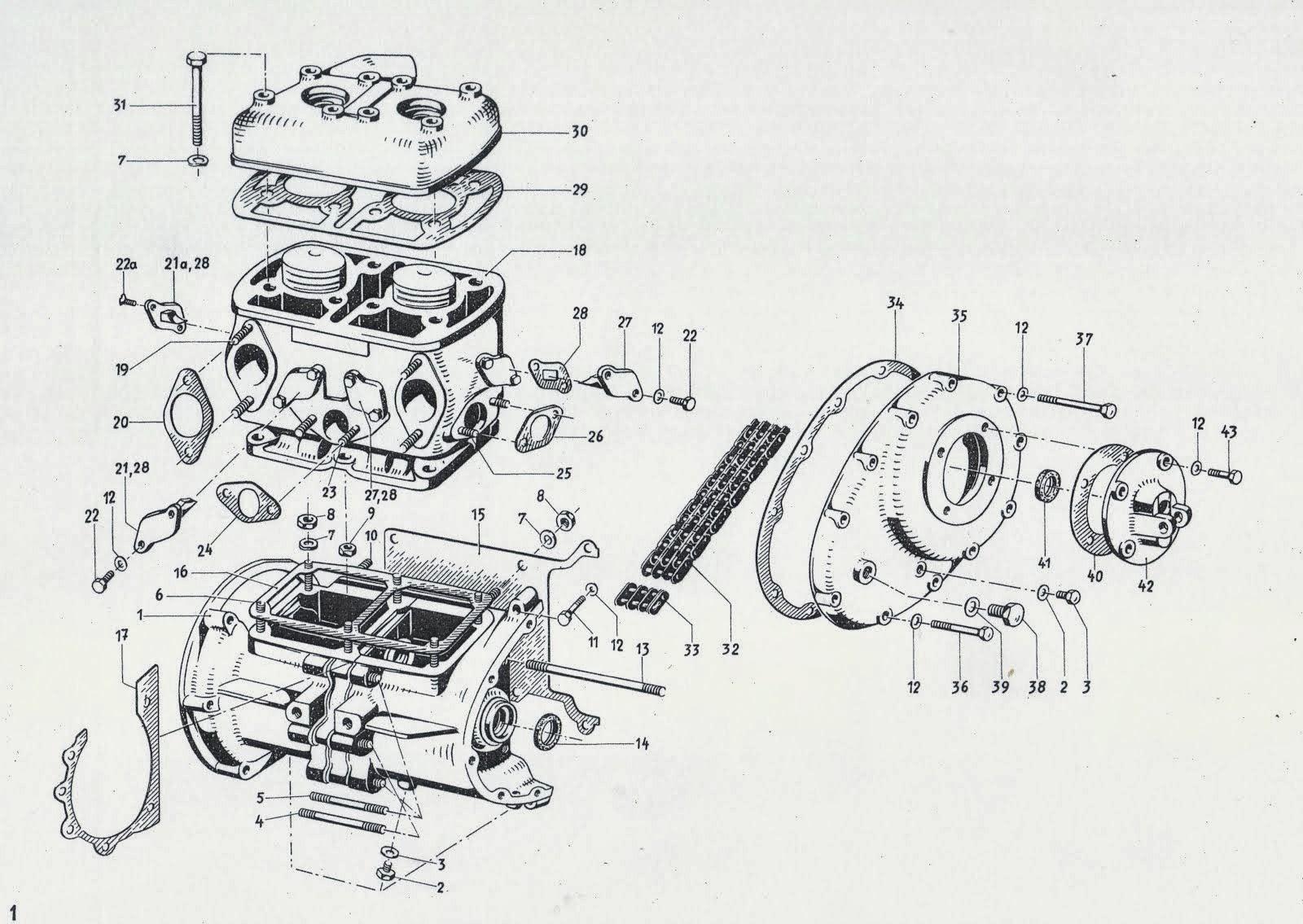 Project Tempo: 1950 Tempo Hanseat Teilelist
