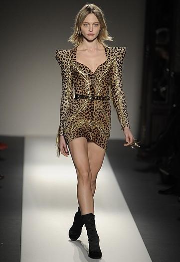 For Fashion Freaks Balmain Metal Mini Dress