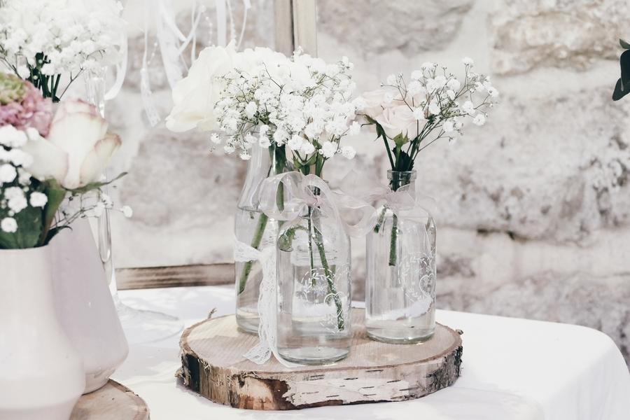 décoration florale salon du mariage by charlie and com