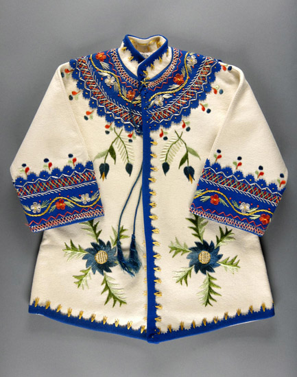 Embroidered kid's coat