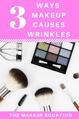 Makeup Causes Wrinkles in 3 Ways