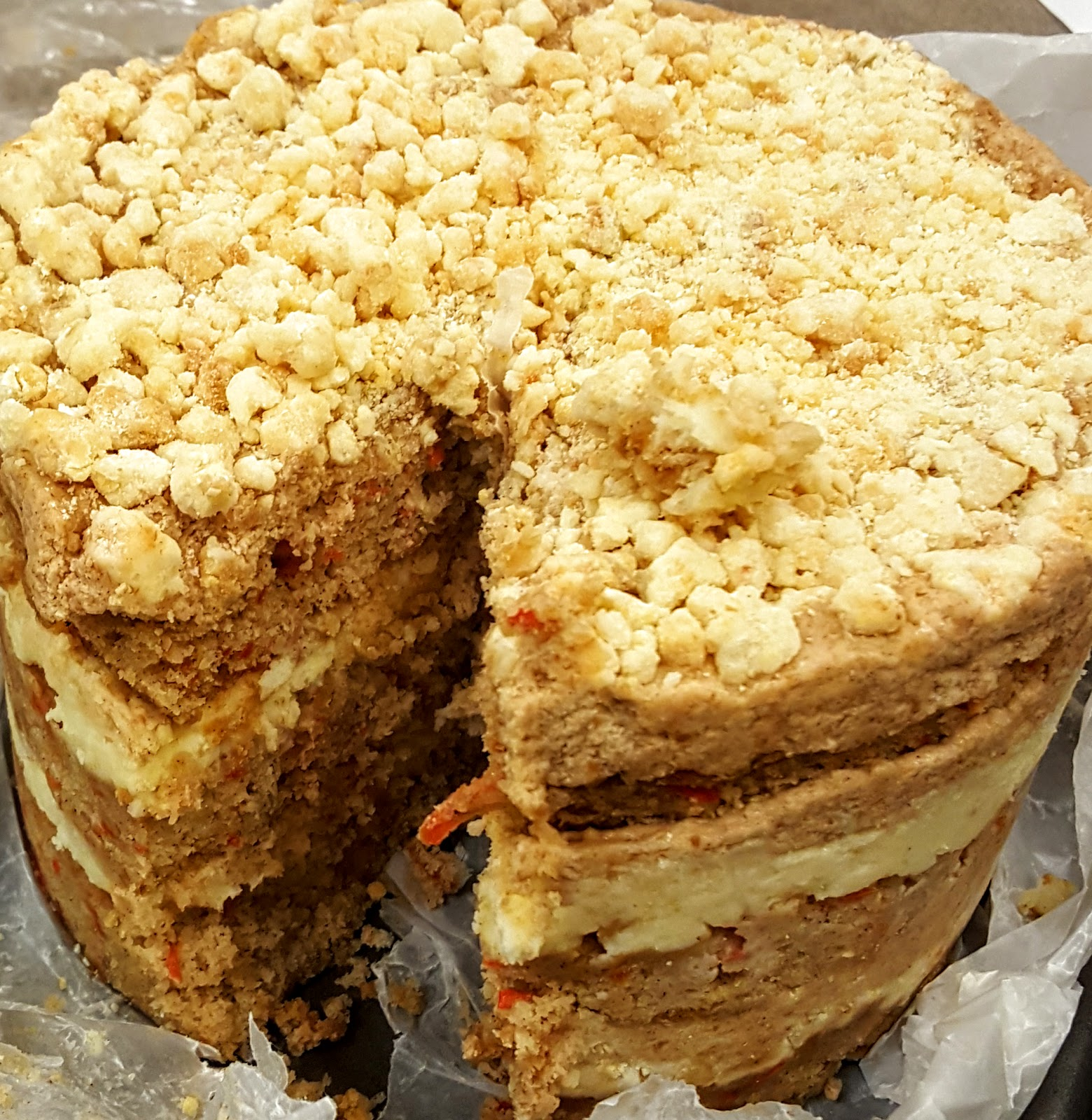 Again With The Momou Milk Bar Layer Cakes Yes One Of My New Coworkers Requested Carrot Cake For Her Birthday I Didn T Want To Give Her Just Any