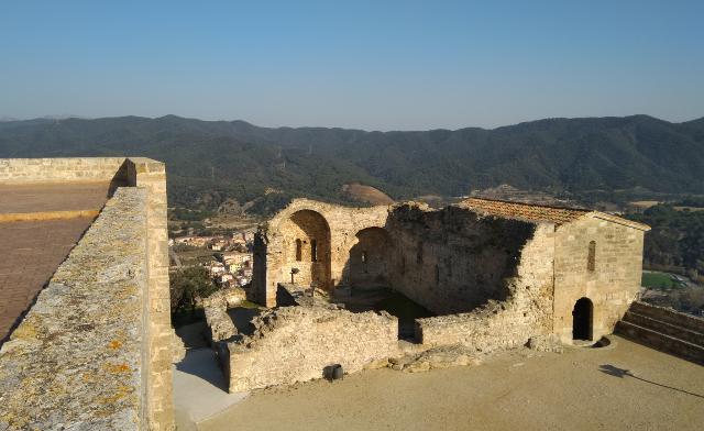 Interior del castell