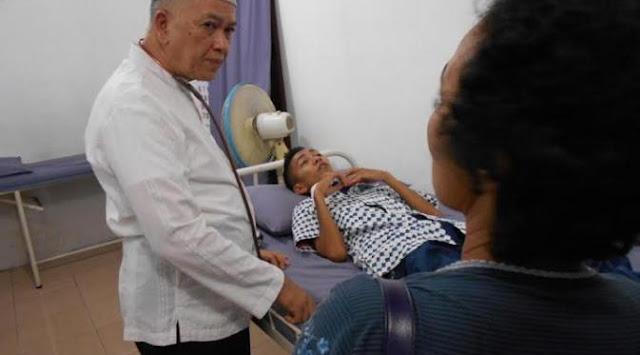 Layani Ratusan Pasien, Dokter di Medan Rela Dibayar Sesuka Hati