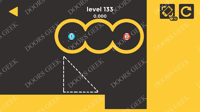 Ball & Ball Level 133 Solution, Walkthrough, Cheats for android and ios