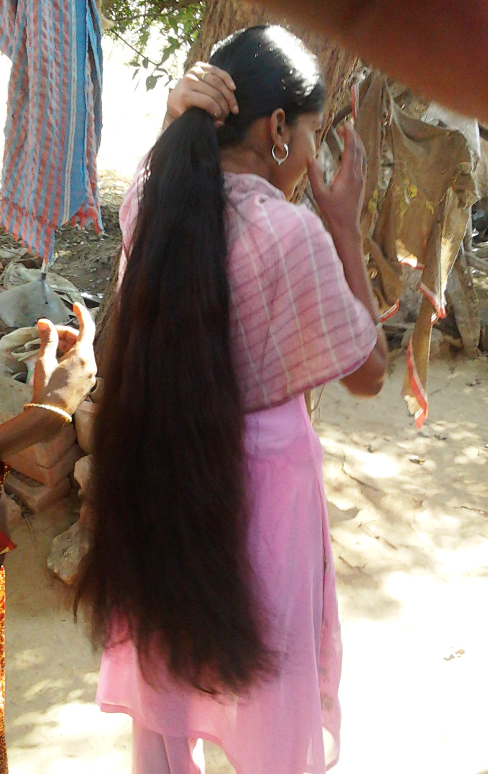 Indian Long Hair Sexy