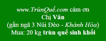Trùn quế về Khánh Hòa
