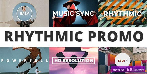 rhythmic promo template videohive free download ae google drive, Powerpoint templates