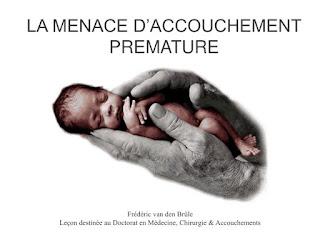 Menace d'accouchement prématuré
