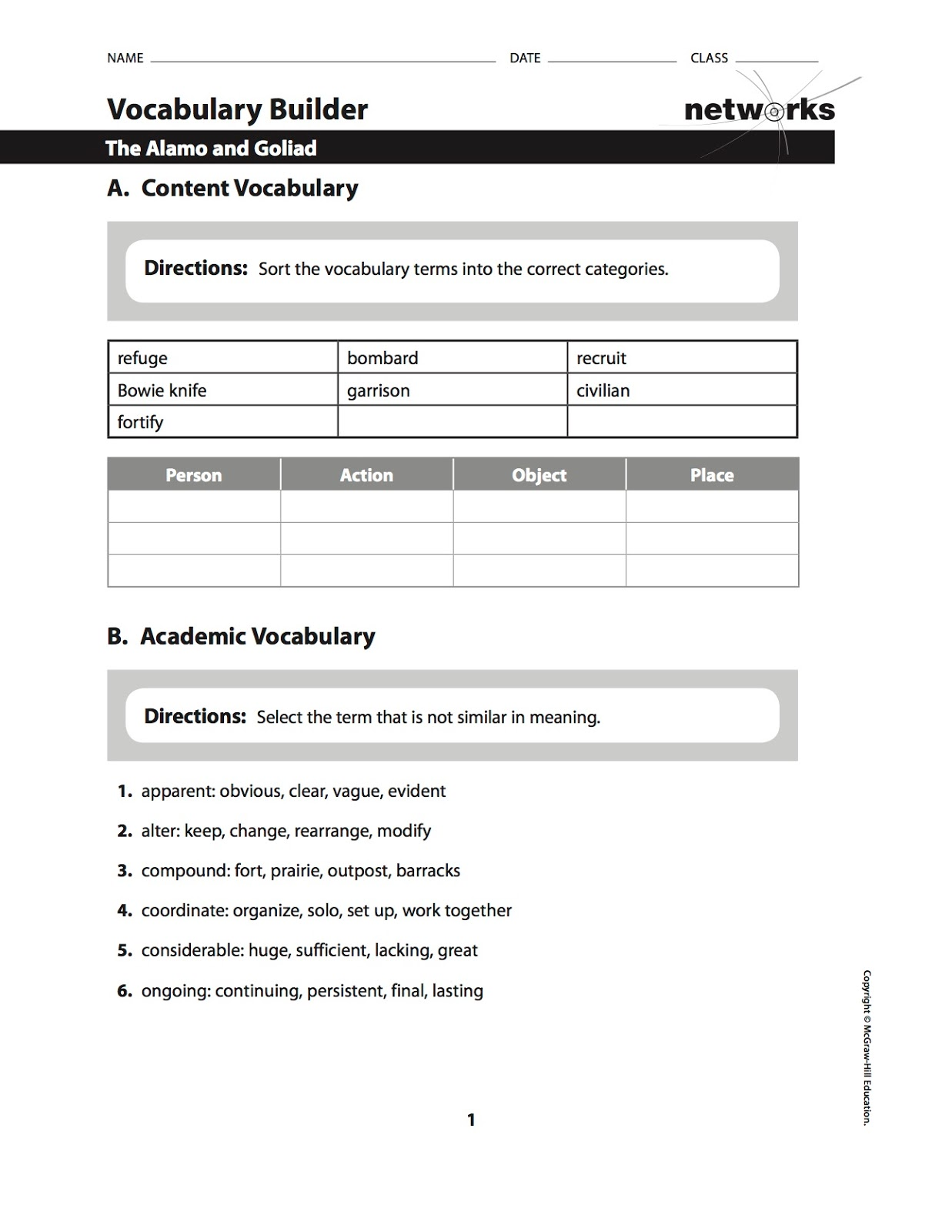 Worksheet guided reading worksheets grass fedjp for Ohio department of education lesson plan template