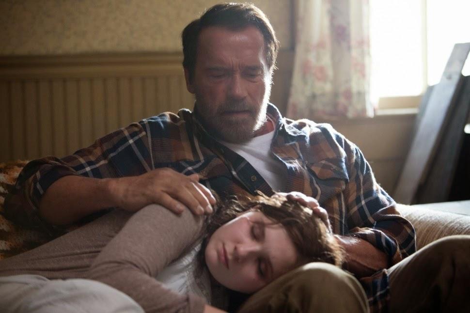 Arnold Schwarzenegger Maggie zombie movie