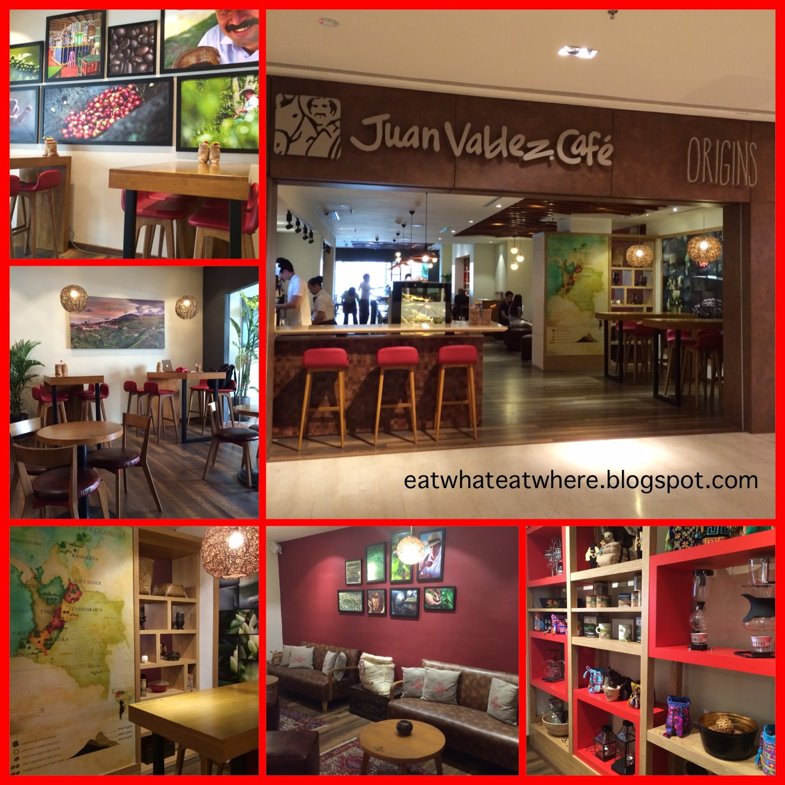 Eat what  Eat where   Juan Valdez Cafe   The Intermark The colourful interior  the classy decor  the beautiful touches  the  adorned knick knacks on the shelves  the wooden tables and leather chairs  gives me the