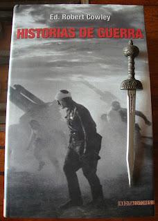 Portada del libro Historias de guerra, de Robert Cowley