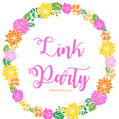 Your Party Ideas, Recipes & Crafts | Link Party #3