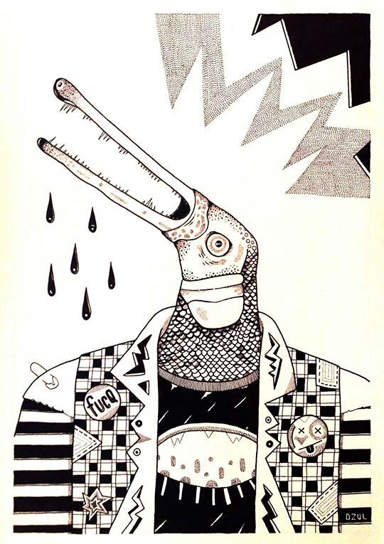 Ilustración de Carlos Dzul