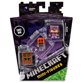 Minecraft Series 4 Zombie Mini Figure