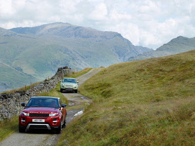 ranger rover evoque off road normal resolution desktop wallpaper 8