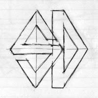 ロゴの下絵