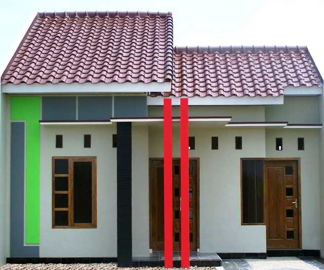 45+ desain rumah minimalis sederhana di kampung & desa ...