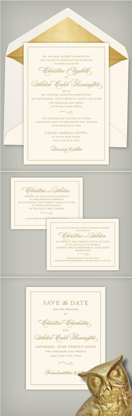 Wedding Invitation Blog