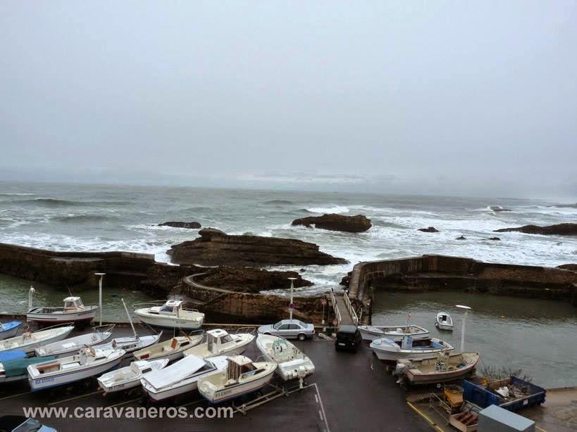 Foto del Puerto de Biarritz | caravaneros.com