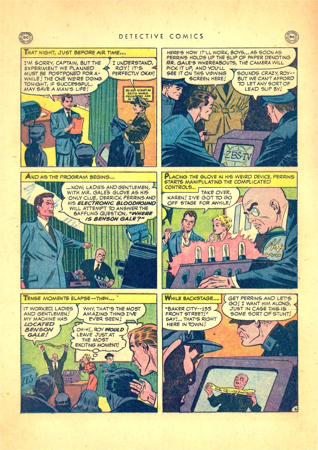 Read online Detective Comics (1937) comic -  Issue #166 - 22