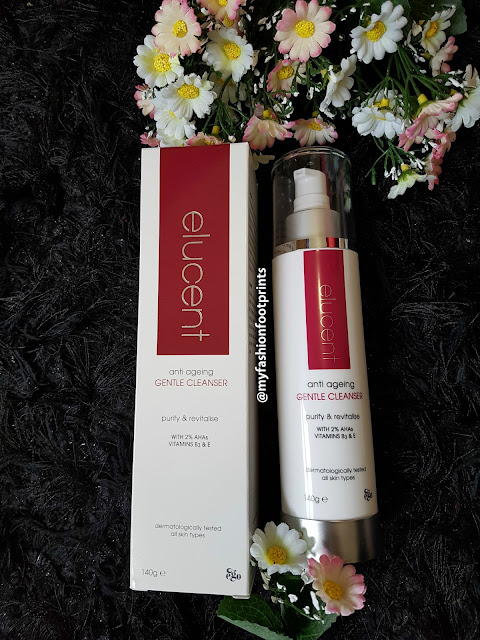 Elucent anti ageing range and my skin care regimen