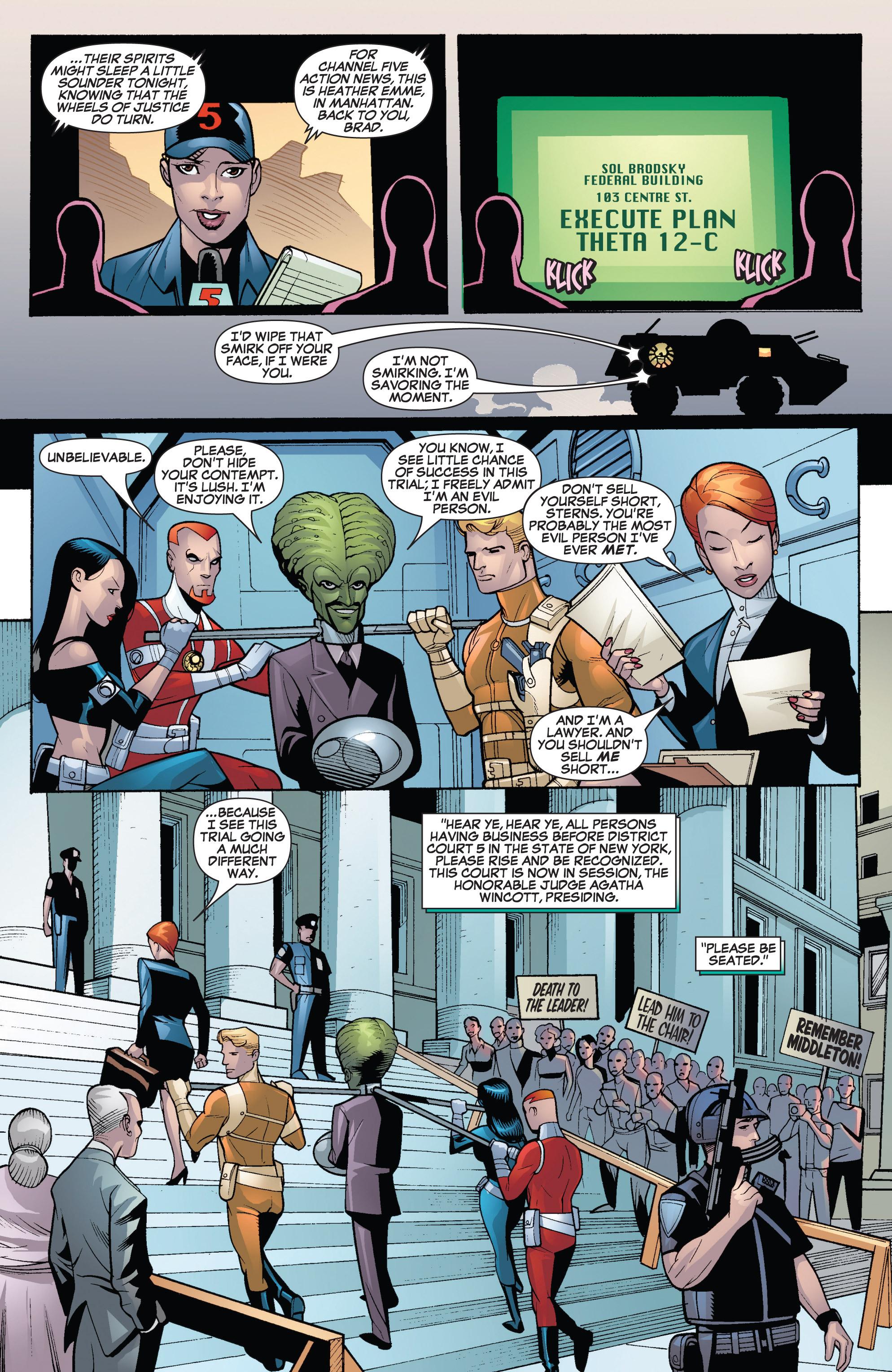 Read online She-Hulk (2005) comic -  Issue #19 - 10