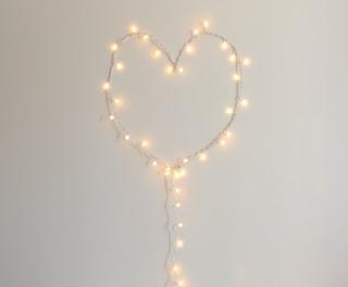 DIY corazón luminoso